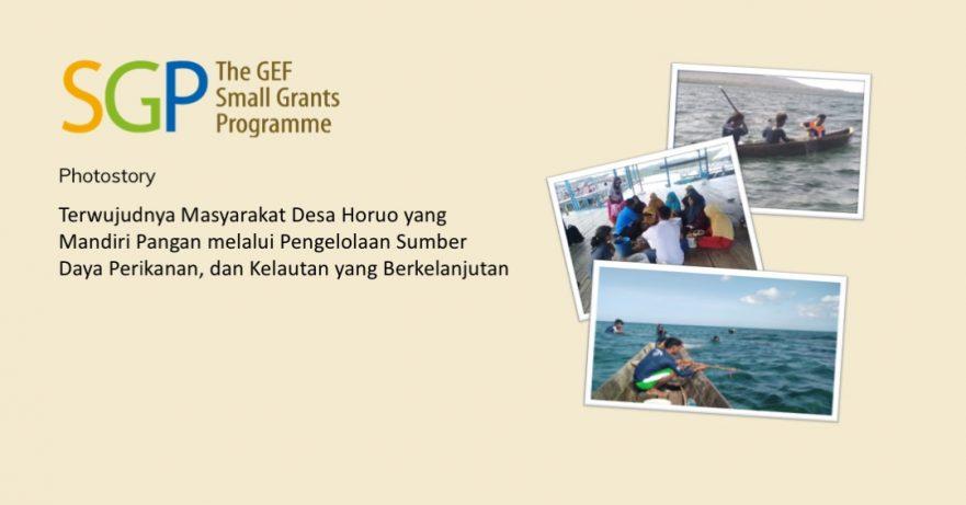 Terwujudnya Masyarakat Desa Horuo yang Mandiri Pangan melalui Pengelolaan Sumber Daya Perikanan, dan Kelautan yang Berkelanjutan