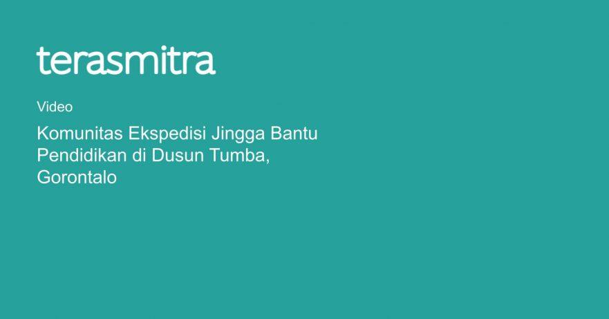 komunitas-ekspedisi-jingga-bantu-pendidikan-di-dusun-tumba-gorontalo