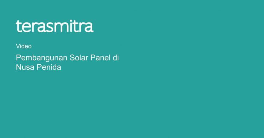 pembangunan-solar-panel-di-nusa-penida