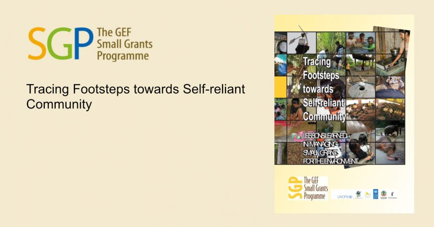 Tracing Footsteps towards Self-reliant Community